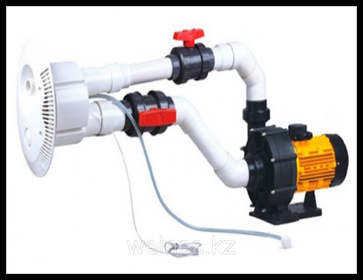 Противоток для бассейна Aquaviva STP-4000, под бетон/под пленку, 4,0 кВт, 5,5 HP, 75 м³/ч
