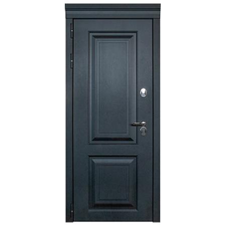 Дверь металлическая Лайн Термо Черный муар 860 права