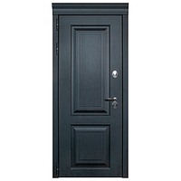 Дверь металлическая Лайн Термо Черный муар 960 левая