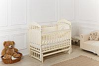 """Кроватка детская Incanto """"Pali"""", (слоновая кость) универсальный маятник."""