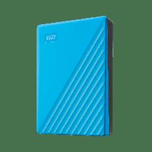 """Western Digital WDBPKJ0040BBL-WESN Внешний HDD 4Tb My Passport 2.5"""" USB 3.1 Цвет: Синий"""