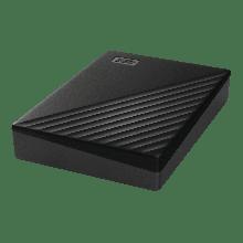 "Western Digital WDBPKJ0040BBK-WESN Внешний HDD 4Tb My Passport 2.5"" USB 3.1 Цвет: Черный"