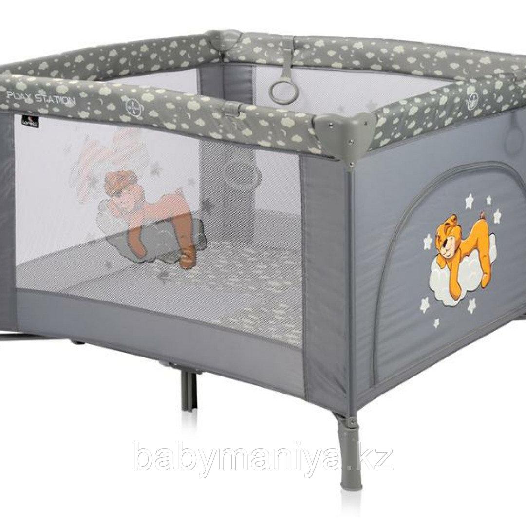 Детский игровой манеж Lorelli Play Station Серый / Grey 2074