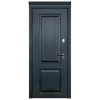 Дверь металлическая Лайн Термо Черный муар 960 права