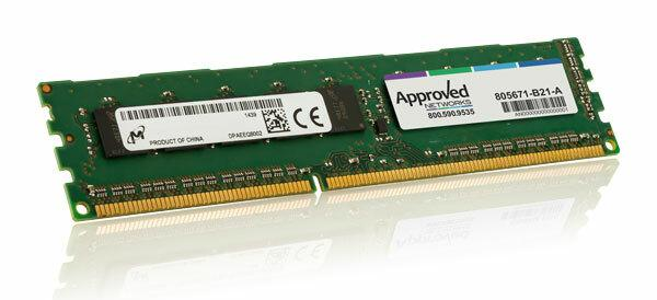 HPE 805671-B21 Модуль памяти 16GB (1x16GB) Dual Rank x8 DDR4-2133 CAS-15-15-15 Unbuffered Standard Memory Kit