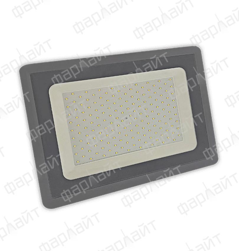 Прожектор светодиодный СДО 150Вт 6500К IP65 серый Фарлайт