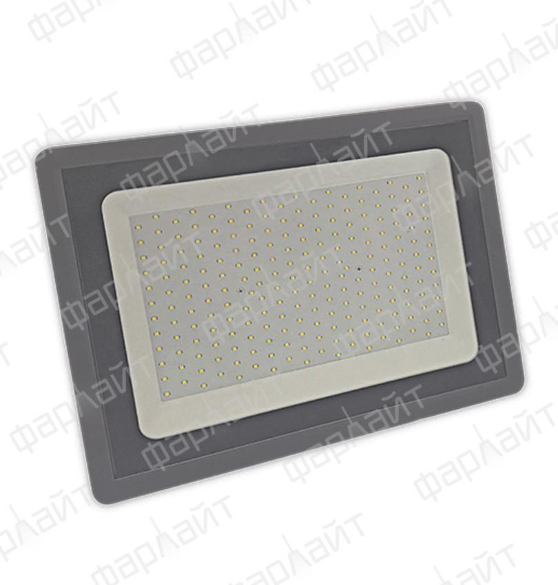 Прожектор светодиодный СДО 200Вт 6500К IP65 серый Фарлайт