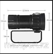 Мощный LED фонарь QH27 для Дайвинга Подводный, фото 2