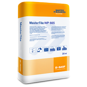 Двухкомпонентный водоизолирующий эластичный материал MasterTile WP 665 (Компонент А)