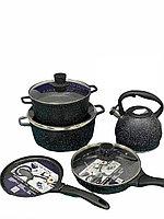 Каменный набор посуды от Vicalina с чайником