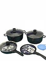 Каменный набор посуды от Vicalina с блинницей