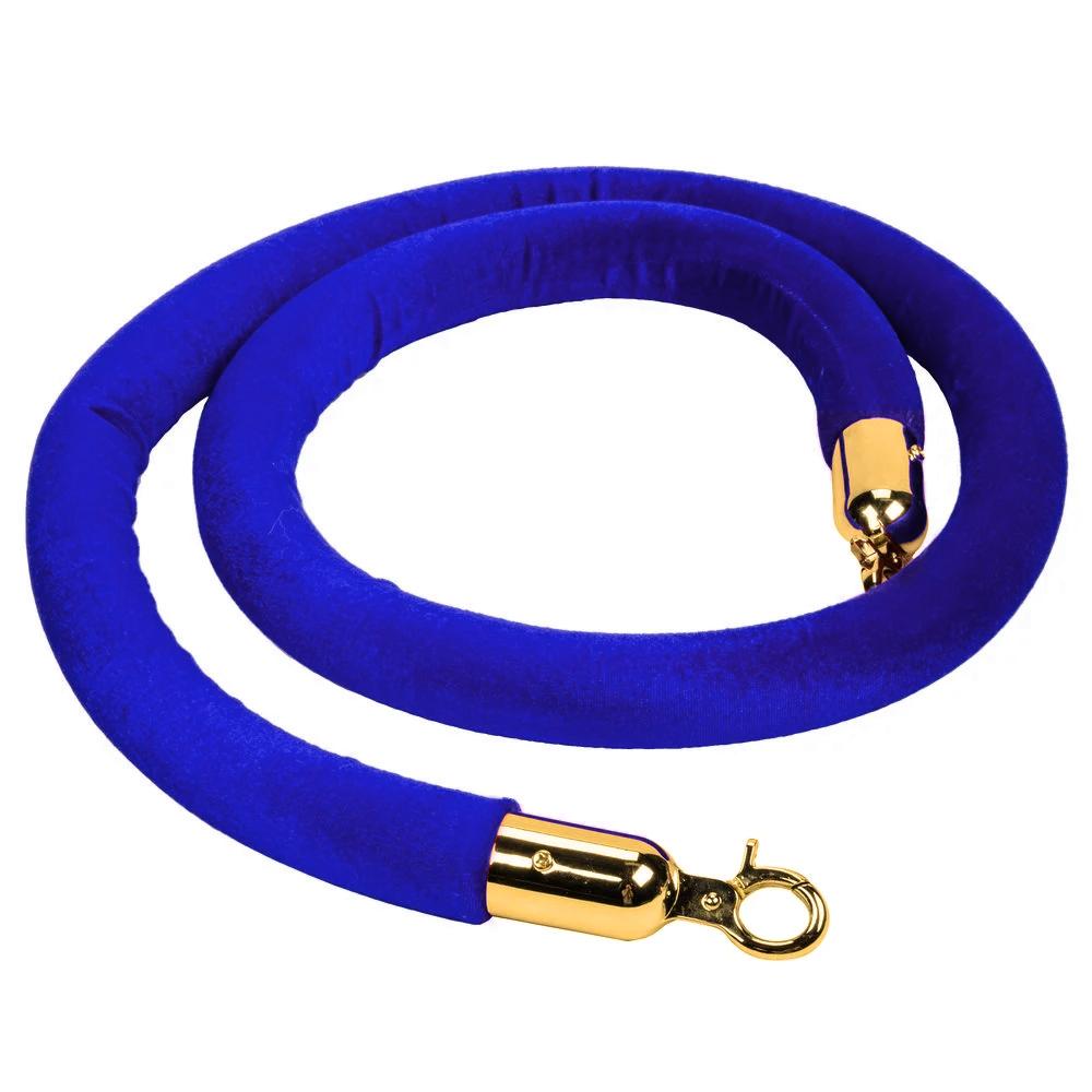 Лента 1,5м для стойки-ограждения  ПАРФЛЕКС синяя