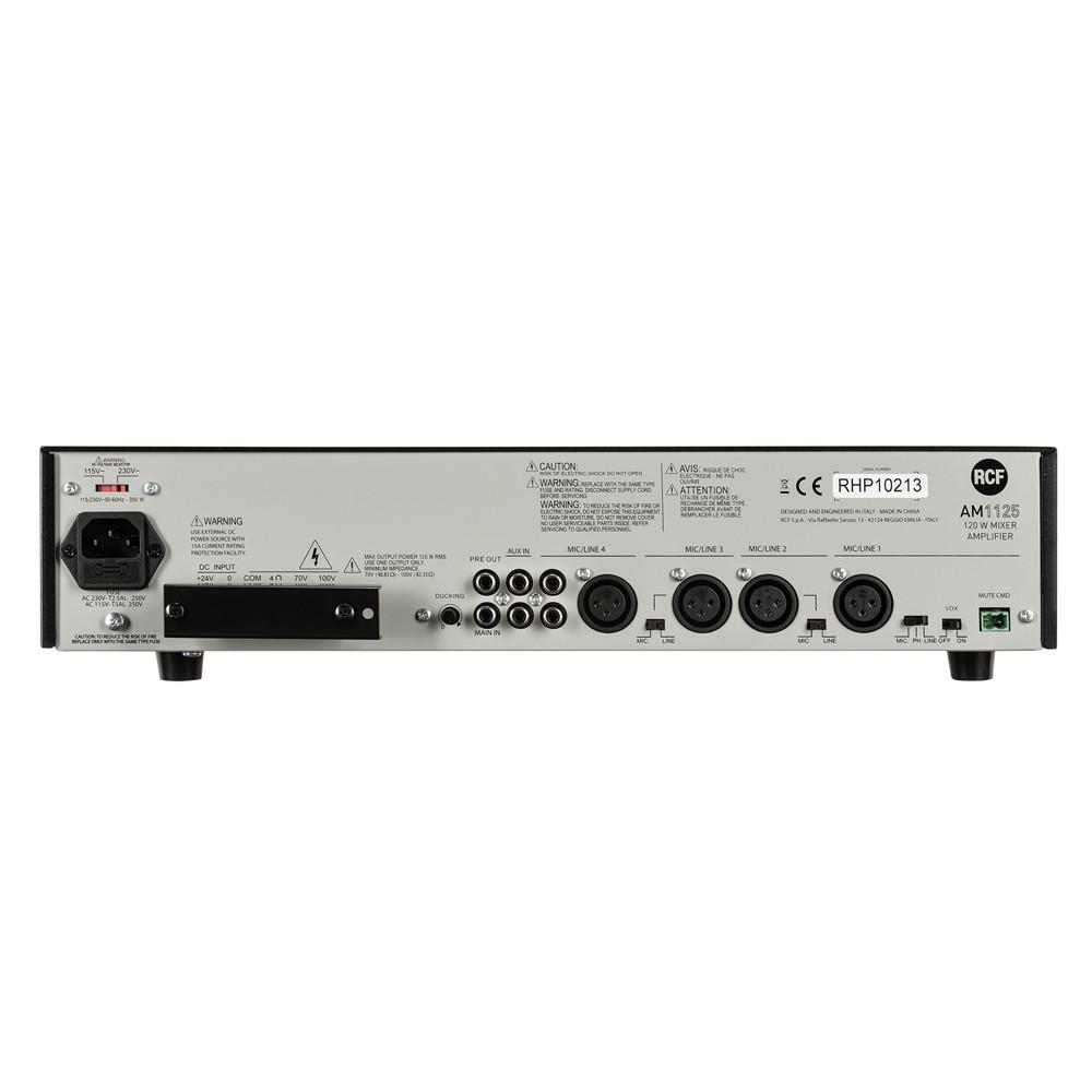 Микширующий трансляционный усилитель RCF AM 1125 - фото 5