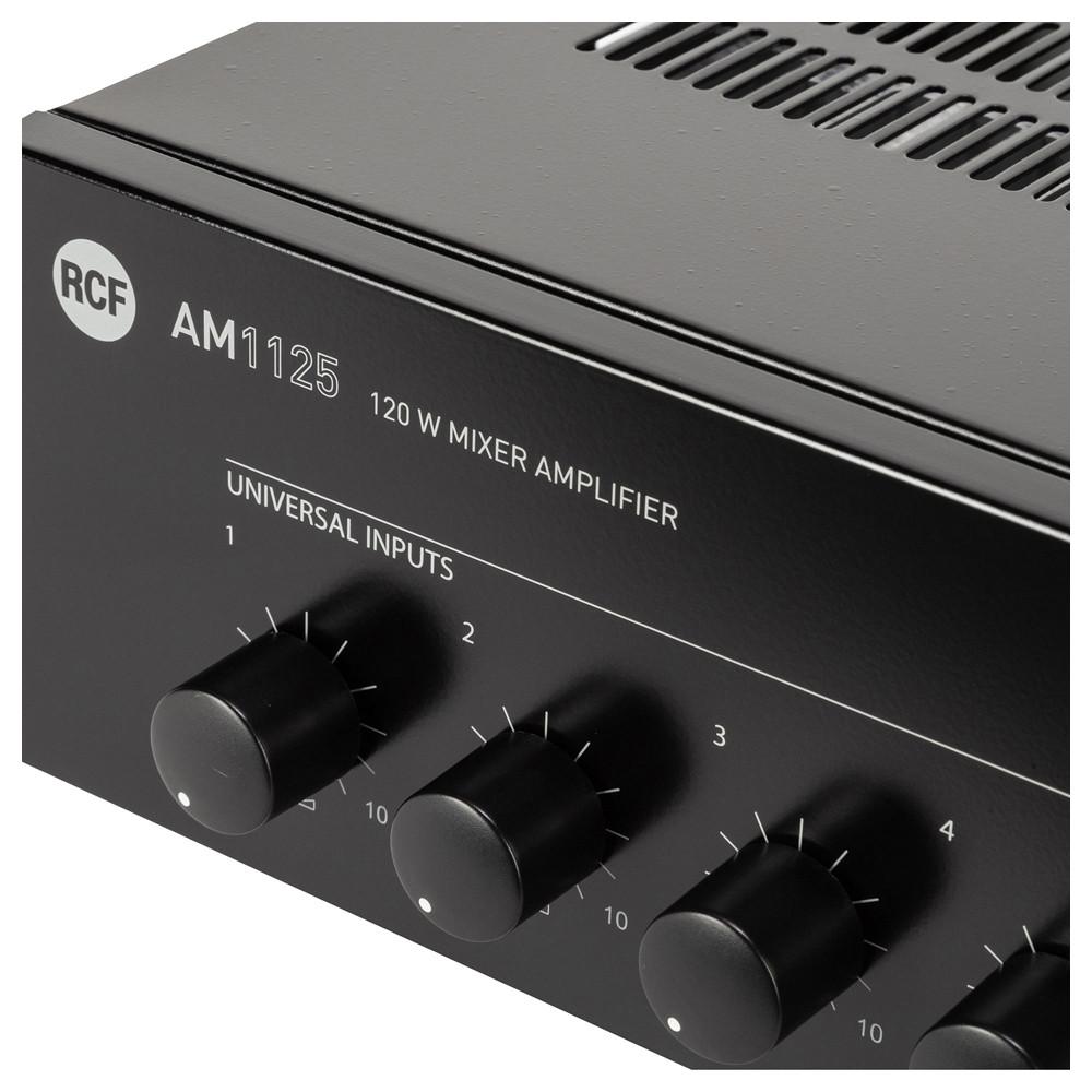 Микширующий трансляционный усилитель RCF AM 1125 - фото 6