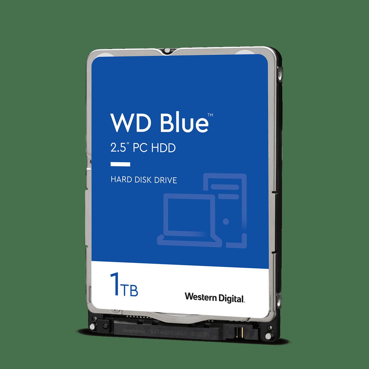 "Western Digital WD10SPZX Жесткий диск для ноутбука Blue 1Tb SATA 6Gb 2.5"" 5400rpm 128Mb Толщина 7мм"