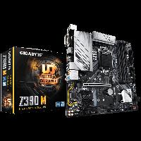 Intel 1151 Z390 Gigabyte 4DDR4 6SATA M.2HDMI DP DVI mATX (Z390 M), фото 1