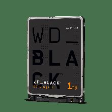 """Western Digital WD10SPSX Жесткий диск для ноутбука 1Tb WD Black 64Mb 2,5"""" SATA6Gb/s 7200rpm 7,5 мм"""