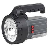 Фонарь-прожектор Эра FA55M на аккумуляторе 9LED + галоген 10Вт