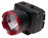 Светодиодный аккумуляторный налобный фонарь Космос 2 режима 5Вт LED
