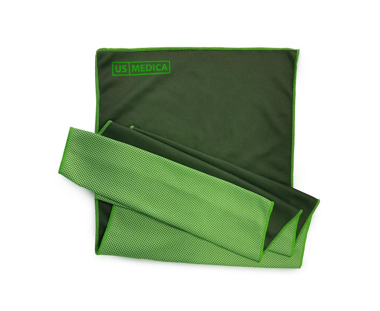 Охлаждающее полотенце Cool Fit (Цвет:Зелёный)