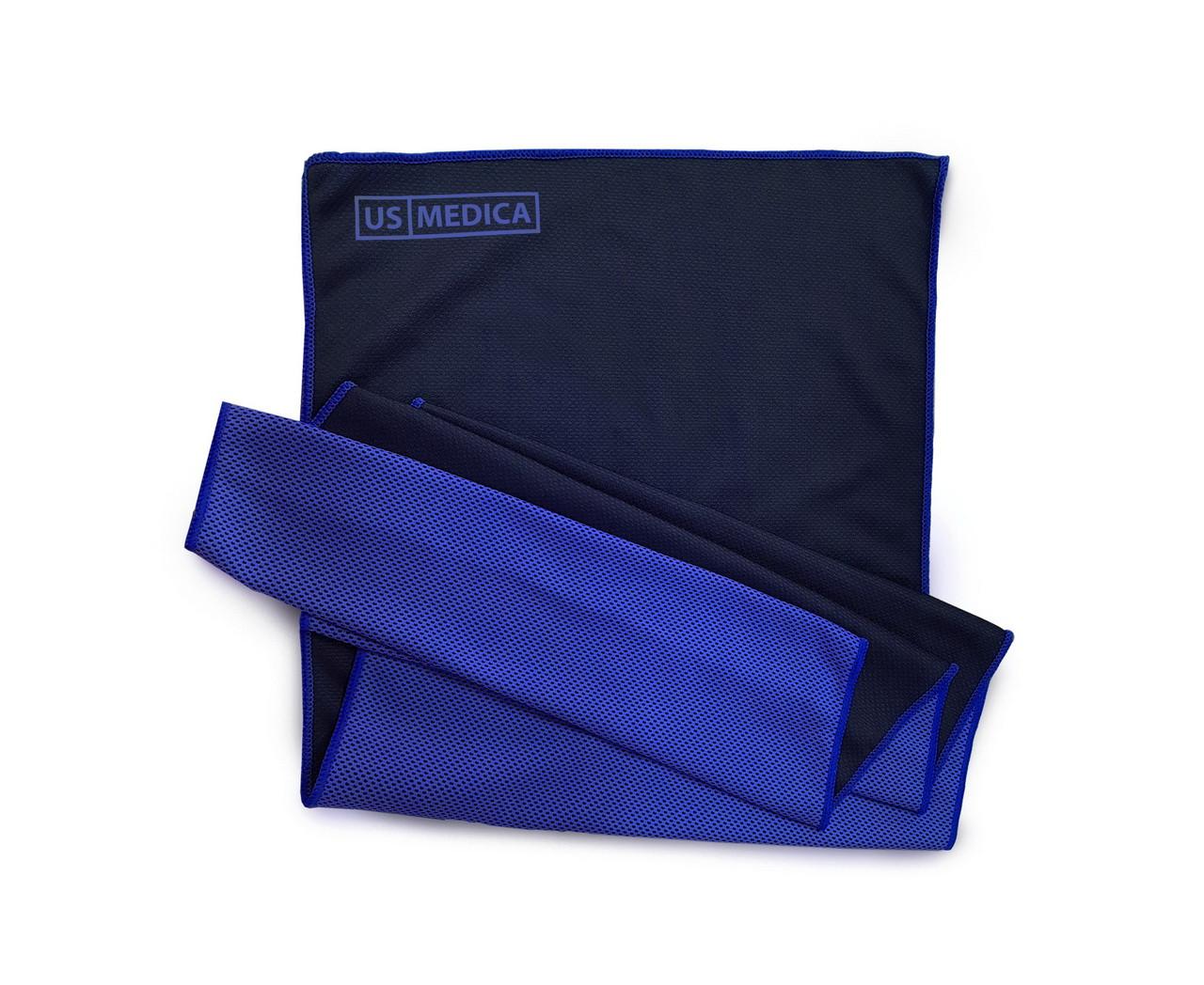 Охлаждающее полотенце Cool Fit (Цвет-Синий)