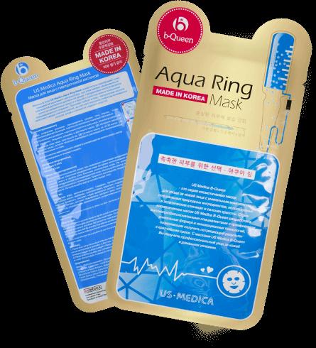 Маска для лица с гиалуроновой кислотой Aqua Ring Mask