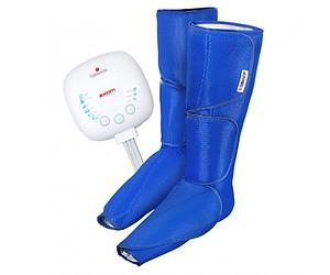 Массажер для ног Axiom Air Boots (Цвет:Синий)