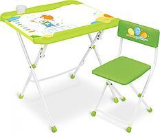 Набор детской мебели с Медвежонком стол + парта + мольберт КНД5/2