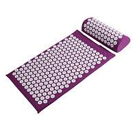 Аппликатор Кузнецова массажный акупунктурный коврик с подушкой (массажер для спины)., фото 1