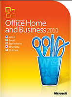 Microsoft Office 2010 Home and Business , 1ПК, DVD, BOX