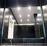 Зеркало с LED- подсветкой «парящее», 1250(Ш)х1050(В)мм, фото 2
