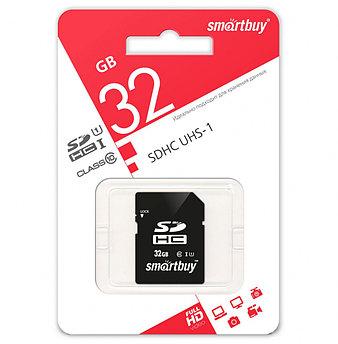 SDHC карта памяти Smartbuy 32GB class 10 UHS-I