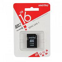 SDHC карта памяти Smartbuy 16GB class 10 UHS-I