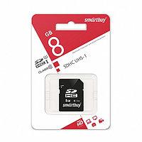 SDHC карта памяти Smartbuy 8GB class 10 UHS-I