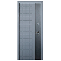 Дверь металлическая Виктория Термо Серый муар 860 правая