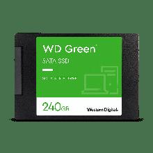 "Western Digital WDS240G2G0A Твердотельный накопитель 240GB SSD Серия GREEN 2.5"" SATA3 R545Mb/s Толщина 7мм"