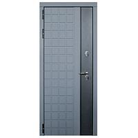 Дверь металлическая Виктория Термо Серый муар 960 левая