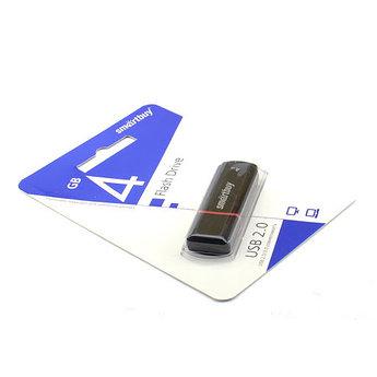 USB накопитель Smartbuy 4GB Crown Black