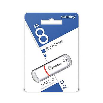 USB накопитель Smartbuy 8GB Crown White