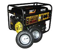 Портативный бензогенератор HUTER DY6500LX с колесами