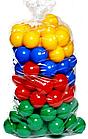Шарики 7см для бассейна 50 шт КАССОН, 47*18*18 см (8 шт. упак.)