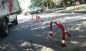 Производство парковочных блоков (блокираторов)