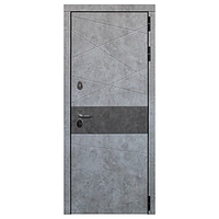 Дверь металлическая Дакар Термо Черный муар 860 левая