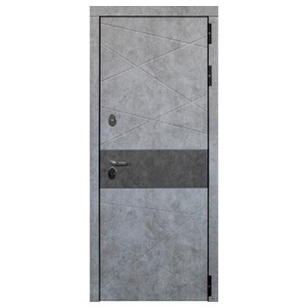 Дверь металлическая Дакар Термо Черный муар 960 левая
