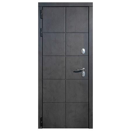Дверь металлическая Каре Термо Черный муар 860 левая