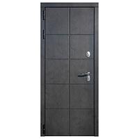 Дверь металлическая Каре Термо Черный муар 960 правая