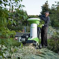 Измельчитель веток Viking GE450.1+ATO400 (3,8 кВт | 380В | 55 мм) электрический садовый, фото 2