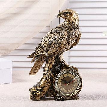 """Часы настольные """"Орел"""", цвет золото,  h=31 см"""
