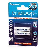 Panasonic Eneloop AAA 750 mAh/2B аккумулятор для ноутбука (BK-4MCCE/2BE)