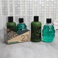 Набор 'Настоящему мужчине' гель для душа фляга и шампунь граната 250 мл аромат мята и цитрус